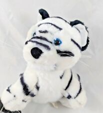 "White Tiger Plush 7"" Milaca Mills Stuffed Animal"
