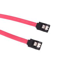 SATA 3.0 1.5GB/s 3Gb/s & 6Gb/s ssd hdd Câble Disque dur Plat droit 40 cm rouge