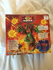 1994 Playmates Exo Squad Wolf Bronski Ground Assault E-Frame MIB Robotech