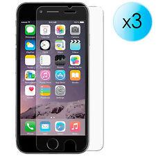"3x PROTECTOR DE PANTALLA ULTRA CRYSTAL CLEAR PARA IPHONE 6 4.7"" 16 64 124 GB"