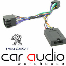 Peugeot 607 2002 On CLARION Car Stereo Radio Steering Wheel Interface Stalk