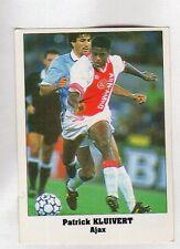 figurina EUROCUPS STAR PARADE 1994-95 NUMERO 15 AJAX KLUIVERT