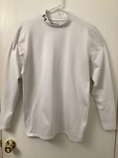 """""""Under Amour"""" Men's Size (2XL) Compression Activewear Top-White-PRE-OWNED"""