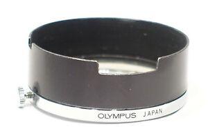 Genuine Olympus 45mm Black/Chrome lens hood for 35RC 35RD Pen EED camera 43.5mm