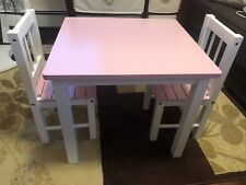 toddler table and chair set wood