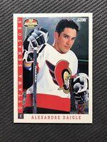 1993-94 SCORE ALEXANDRE DAIGLE TOP ROOKIE SP #496 (3)