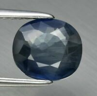Sapphire 1.65ct / VS clarity / Oval 7.6x6.8 mm Natural Heated Blue Madagascar