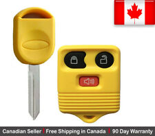 1New Replacement Remote Key Fob Yellow For Ford Lincoln Mazda Mercury 80 40 chip