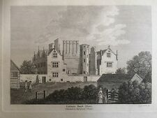1787 Print; Eastbury Manor House, now the Museum of Barking