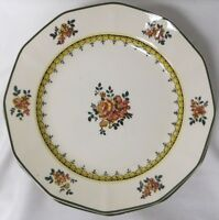 "ROYAL DOULTON DUESBURY DINNER PLATE 9 7/8"" DIAMETER MADE IN ENGLAND VINTAGE GUC"