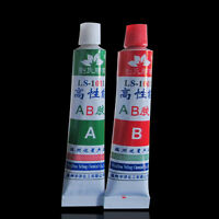 NEW 2Pc Two-Component Modified Adhesive AB Glue For Super Bond/Metal/Plastic DIY