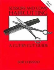SCISSORS AND COMB HAIRCUTTING - OHNSTAD, BOB - NEW PAPERBACK BOOK