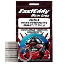 20x27x4 Metal Shielded Bearing 6704-ZZ (10 Units)