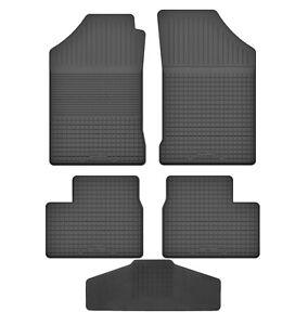 Fußmatten für Peugeot 206 1998 - 2013 Gummi Gummimatten
