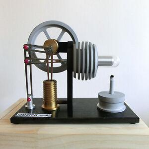 a110 Stirlingmotor Heissluft Motor Physik Modell