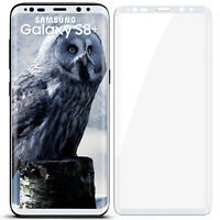 3D Blindé Film de Verre pour Samsung Galaxy S8 Plus 9H Dur Transparent Full