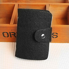 Men/Women Ladies ID Credit Card Holder Leather Pocket Case Purse Small Wallet