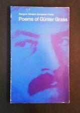 Poems Of Gunter Grass - pb 1969