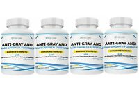 Anti-Gray Hair Pills w/Keratin, - Stop Grey Hair & Grow Long Hair- (4) Month