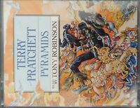 Terry Pratchett Pyramids Audiobook Cassette Tapes Tony Robinson