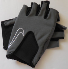 NIKE Men's Core Training Gloves Color Flint Grey/Black/White Size L New
