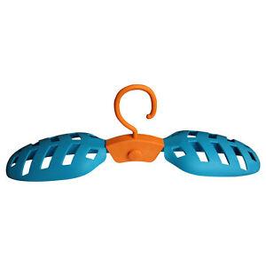 HANGy blau Kleiderbügel Mehrzweck Bügel für Neoprenanzüge Tauchanzüge klappbar