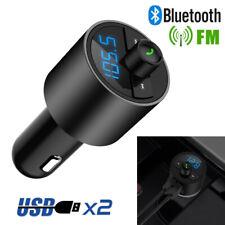 Bluetooth VOITURE KIT MP3 sans fil radio FM Transmetteur USB Chargeur Main Libre