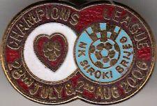 Hearts v NK Siroki Brijeg  ( CL 2006-2007 ) - lapel badge butterfly fitting