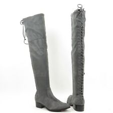 f5804c70968 NEW Charles By Charles David Gannon Gray Over-the-Knee Boots Women s Size  7.5