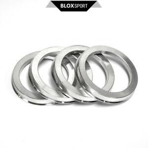 Aluminum 4pc Wheel Hub Ring Vehicle (ID= 64.1, Wheel CB OD=73.1) for Honda Civic
