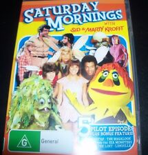 Saturday Morning With Sid & Marty Krofft (Australia Region 4) DVD – Like New