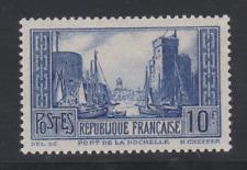 FRANCE YT 261 LE PORT DE LA ROCHELLE  N** MNH NSC  TTB COTE  170€