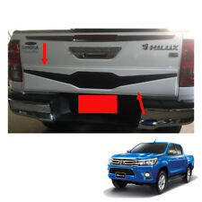 Rear Tail Gate Nudge Cladding Cover for Toyota Hilux Revo SR5 M70 2015 - 2017