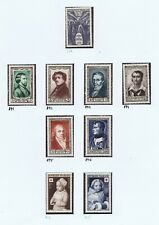 France - 1951 National Relief, Stamp Day & Red Cross Issue