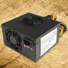 Brand NEW-Green Black Dual Fan 650w-MAX ATX Power Supply 20+4Pin, SATA & PCIe