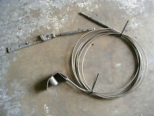2 Stainless Steel Wire Cable Sailboat 20' Bracket Terminal Mast Eye Stay 5mm 0.2