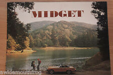 Mg Midget 1976 USA & Canada SALES BROCHURE