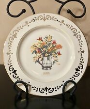 "Lenox 2005 ""South Carolina� Annual Colonial Bouquet Collectors Plate Very Rare!"