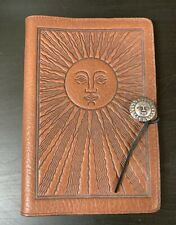 Oberon Leather Sun Book Journal Cover 9x6