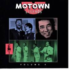 MOTOWN LEGENDS VOLUME 4 Various Artists NEW CLASSIC SOUL CD (MOTOWN) U.S IMPORT