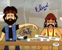 Cheech Marin & Tommy Chong Animated Movie Signed 8X10 Photo PSA/DNA #AC22437