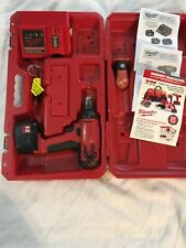 """Milwaukee 12V 3/8"""" Drill Driver w/ Battery & Charger + Carrying Case + Manuals"""