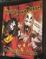 Insane Clown Posse - The Great Milenko Hollywood Records Promo Picture Flyer