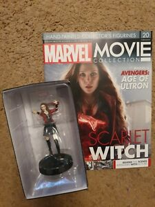 Eaglemoss MARVEL Movie Collection  Issue 20: Scarlet Witch Figurine (Avengers)