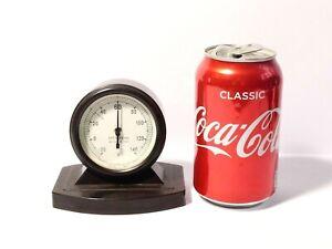 Vintage Desk Top Bakelite Fahrenheit Thermometer by British Rototherm London