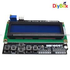 Expansion Board 1602 LCD Board Keypad Shield for Arduino Blue Backlight