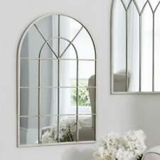 1.2 m high PROVINCIAL FRENCH classical orangerie ivory cream arched MIRROR  NEW