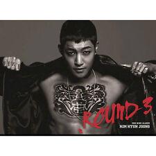 SS501 KIM HYUN JOONG - [ROUND 3] 3th Mini Album CD + Photo Booklet Sealed K-POP