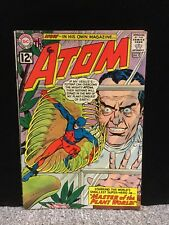The Atom 1 VF- Cream to Off White Pages,1st Plant Master, Tough DC #1 (1962)