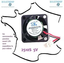 ventilateur 25x25mm 5V 2510s